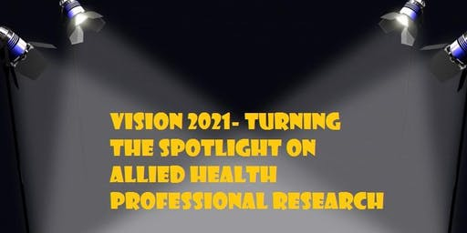 Vision 2021- Allied Health Professional Research
