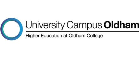 University Campus Oldham Showcase, Free – booking essential tickets