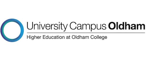 University Campus Oldham Showcase, Free – booking essential