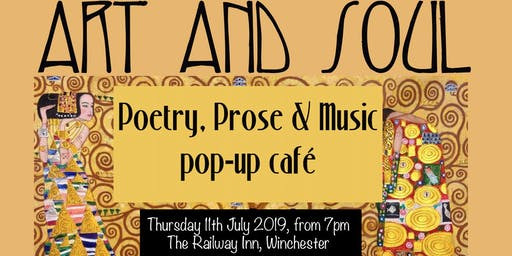 Art and Soul Poetry & Prose pop-up cafe