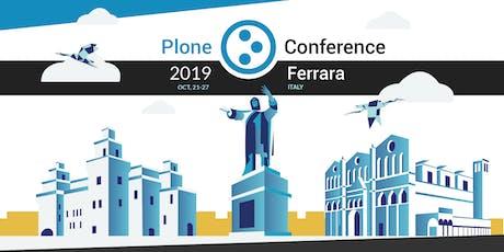 Plone Conference 2019 biglietti