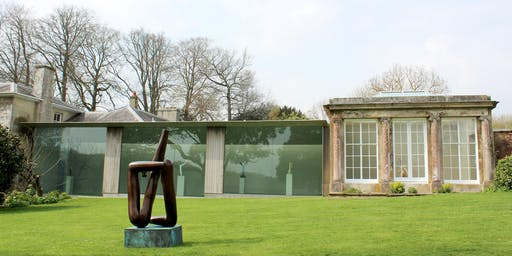 Sketching day at Roche Court Sculpture Park with artist Nick Andrew