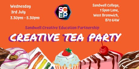Sandwell Cultural Education Partnership Tea Party tickets