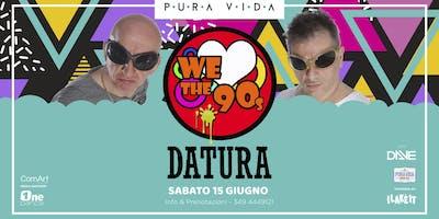 Concerto dei DATURA sul LAGO DI COMO|INGRESSO GRATUITO| WeLoveThe90s