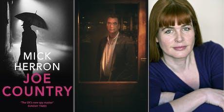 Joe Country: Mick Herron and Miranda Carter tickets