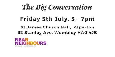 The Big Conversation tickets