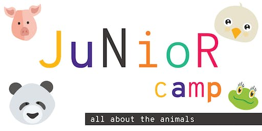 Junior Camp: All About the Animals