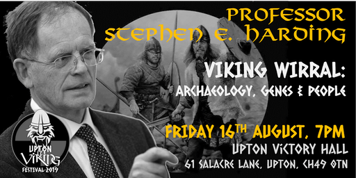 Viking Wirral // Friday 16th August 2019 // Professor Stephen E. Harding