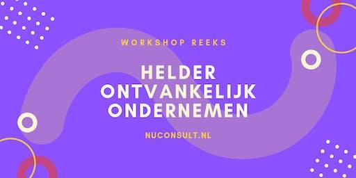 Persoonlijke Workshop Helder Ondernemen - Focus & Finance - Kom ruimte maken voor je volgende succes!