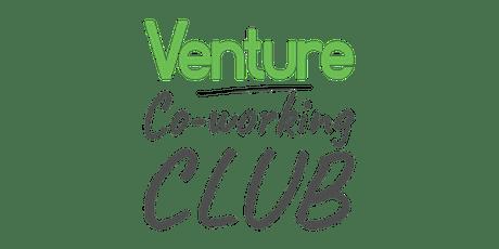 Venture Co-Working Club tickets