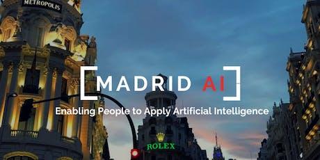 Madrid AI - Septiembre 2019 entradas