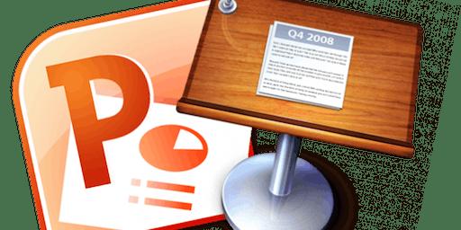 Using Microsoft PowerPoint- Beginners/Refresher