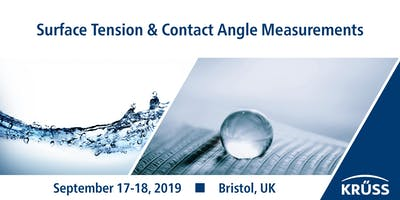 Training course in surface tension  & contact angle