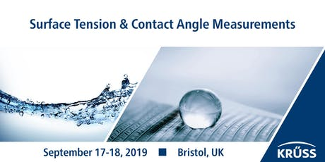 Training course in surface tension  & contact angle tickets
