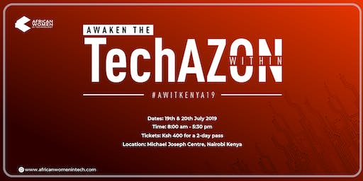 African Women In Technology_Kenya #AWITKenya19