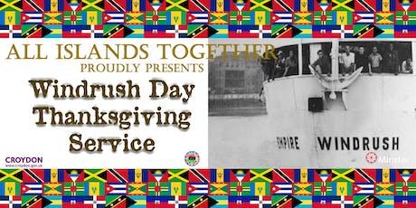 Croydon Windrush Thanksgiving Service tickets