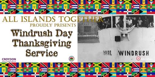 Croydon Windrush Thanksgiving Service