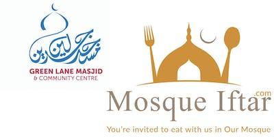 Green Lane Mosque Iftar