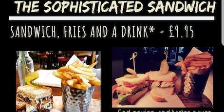 Sandwich & a drink tickets