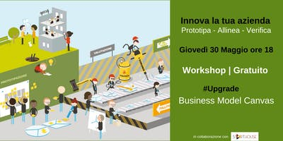 Innova la tua azienda: Business Model Canvas #Upgrade - Workshop