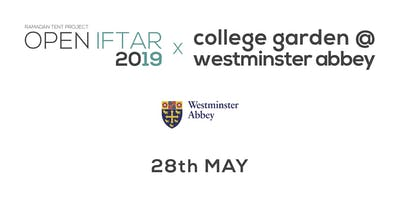 Open Iftar x College Garden at Westminster Abbey