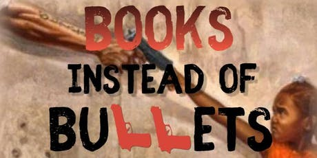 Books Instead of Bullets Book Giveaway tickets