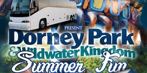 Kirkland's Bus ride to Dorney park!