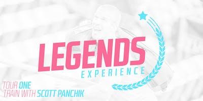Legends Experience / Tour One - Train with Scott Panchik (Rio de Janeiro)