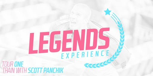Legends Experience / Tour One - Train with Scott Panchik (Rio de Janeiro)