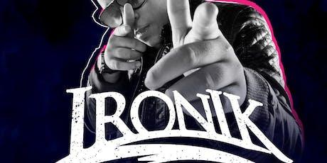 DJ Ironik Live @Unique tickets