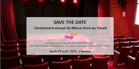 HOP ON ! : l'événement du Mieux-Vivre au Travail billets
