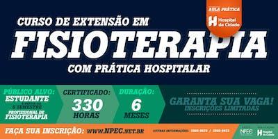 CURSO DE EXTENSÃO EM FISIOTERAPIA HOSPITALAR