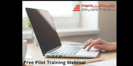 Airways Aviation Pilot Training Webinar - 7th of July 2019  tickets