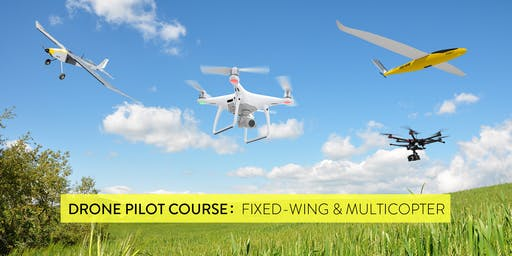 Drone Pilot Training: Fixed-wing & Multirotor (10th edition)