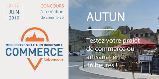 Mon Centre-Ville a Un Incroyable Commerce - Autun