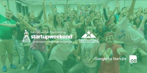 San Sebastian Gastronomy Techstars Startup Weekend