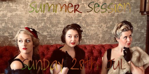 The Vintage Girls Summer Sunday Session. Doors 3pm.
