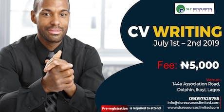 CV Writing tickets