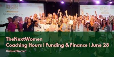 TheNextWomen | Coaching Hours | Funding & Finance