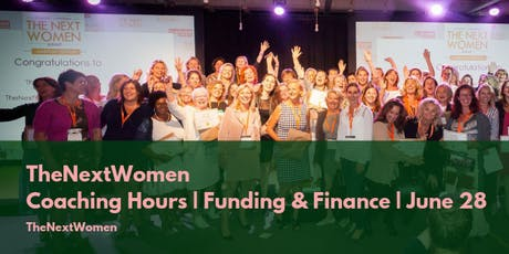 TheNextWomen | Coaching Hours | Funding & Finance tickets