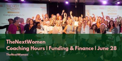 TheNextWomen   Coaching Hours   Funding & Finance