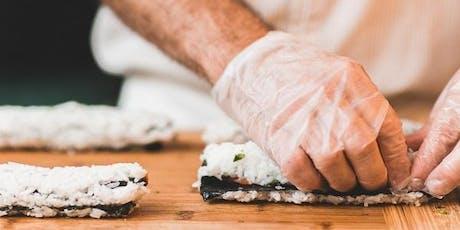 Pollmann Kookclub Snijtechnieken icm sushi  tickets