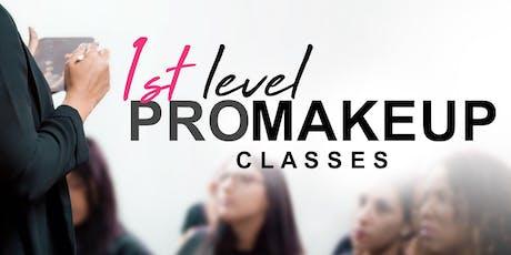 1st Level PRO Makeup Classes • Fajardo entradas