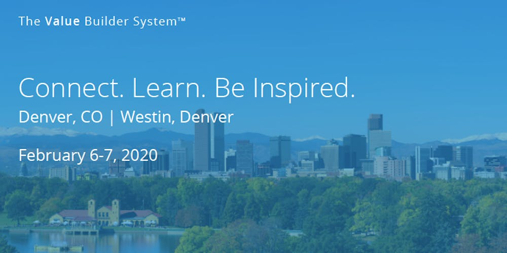 Calendar Of Events February 2020 Denver, Co The Value Builder Summit 2020 – February 6th to 7th, 2020 Tickets