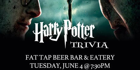 Harry Potter (Movie) Trivia at Fat Tap Beer Bar and Eatery tickets