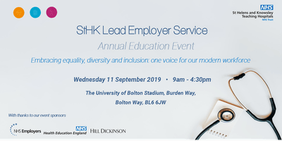 StHK Lead Employer Service Annual Education Event
