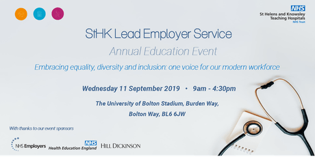 StHK Lead Employer Service Annual Education Event tickets