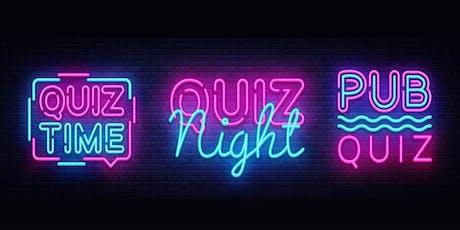 Charity Quiz Night - 10th July 2019 tickets