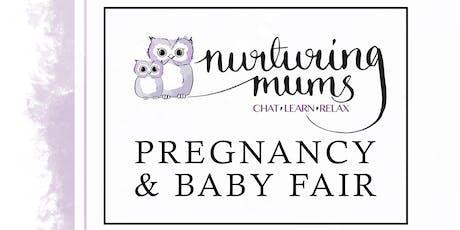 Nurturing Mums Pregnancy and Baby Fair tickets