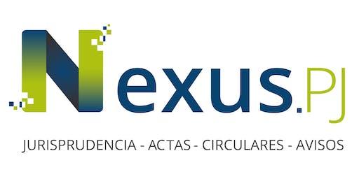 Capacitación Nexus-PJ  Tribunales de San José